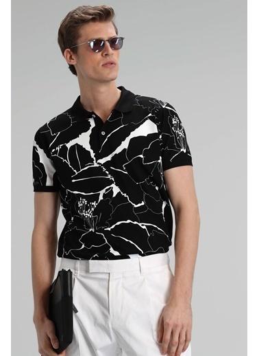 Lufian Lamas Spor Polo T- Shirt   Siyah